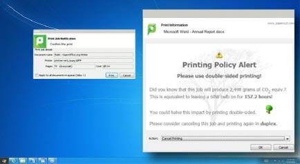 papercut print management- papercut photocopier - papercut printer